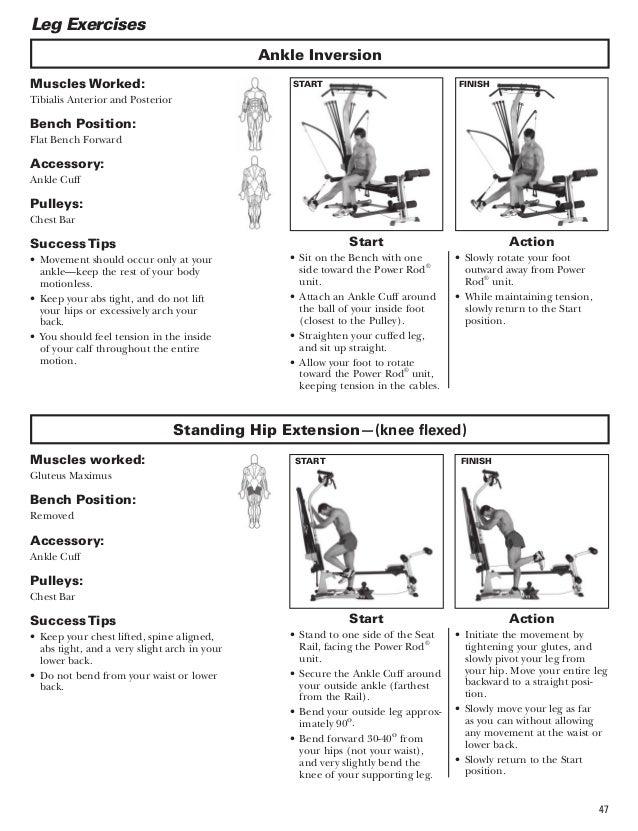 bowflex blaze workouts and manual rh slideshare net Bowflex Home Gym bowflex m7 training guide