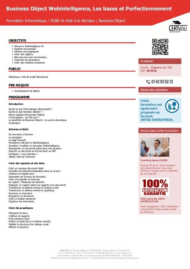 CERTYOU, 37 rue des Mathurins, 75008 PARIS - SAS au capital de 10 000 Euros Tél : 01 42 93 52 72 - Fax : 01 70 72 02 72 - ...