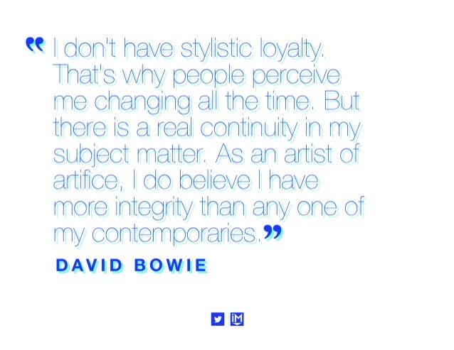 """"""" Speak lh extrerhee,  ltll eaye y©tl tlrhe? '  DAVID BOWIE"""