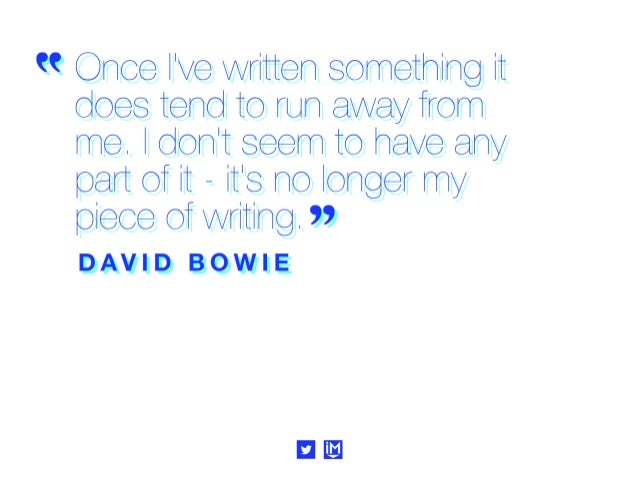 """"""" retl cah helther yylh her leee it yetl cieht rtlh the race. """"  DAVID BOWIE"""