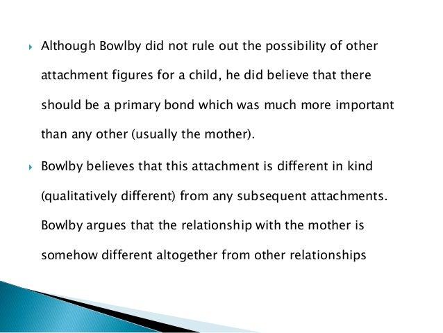 bowlbys child development maternal deprivation hypothoses essay