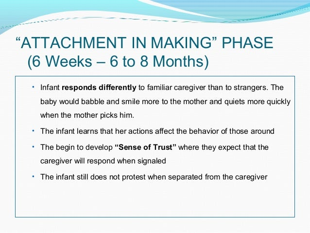 bowlby s attachment theory
