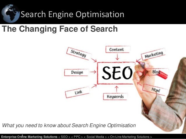 Search Engine Optimisation 1Enterprise Online Marketing Solutions < SEO > < PPC > < Social Media > < On-Line Marketing Sol...