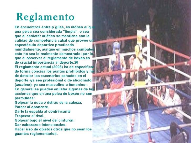 Boxeo Slide 2