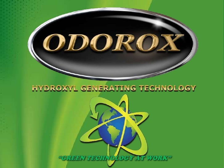 "HYDROXYL GENERATING TECHNOLOGY<br />""GREEN TECHNOLOGY AT WORK""<br />"