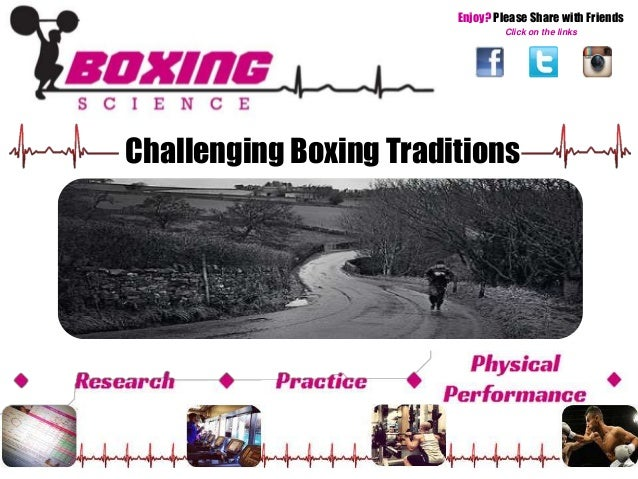Enjoy? Please Share with Friends  Click on the links  Challenging Boxing Traditions