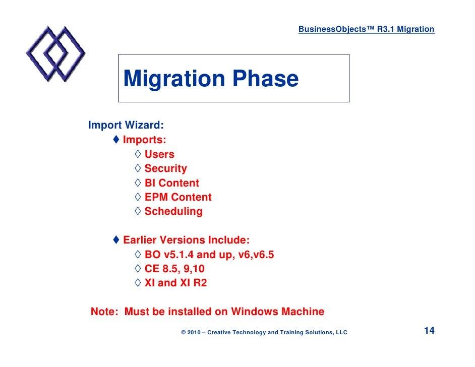 tips for migrating to xi 3 1 rh slideshare net