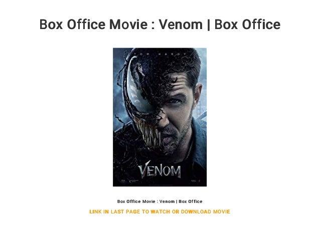Box Office Movie : Venom | Box Office