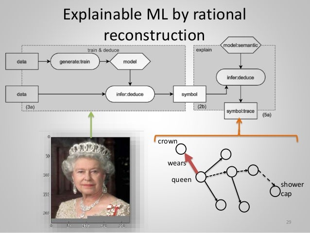 Explainable ML by rational reconstruction queen crown wears 29 shower cap