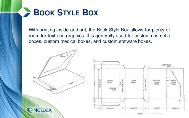 28 book style box