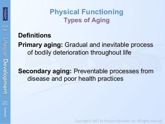 3 types of aging