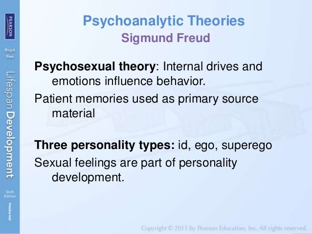 an evaluation of sigmund freuds theory of personality development There are 5 different psychosexual stages in freud's theory freudian psychosexual stage test – are you move onto other stages of sexual development.