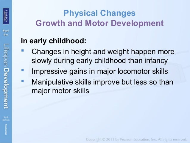 Motor development in middle childhood for Physical and motor development in early childhood
