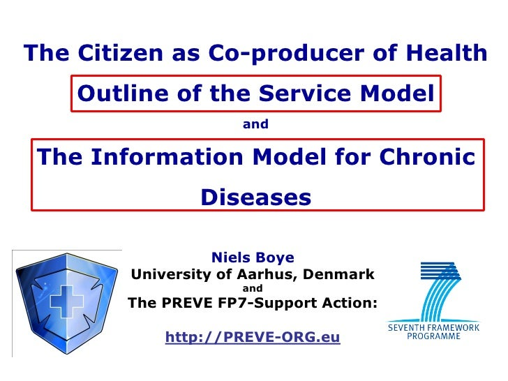 The Citizen as Co-producer of Health     Outline of the Service Model                      and   The Information Model for...