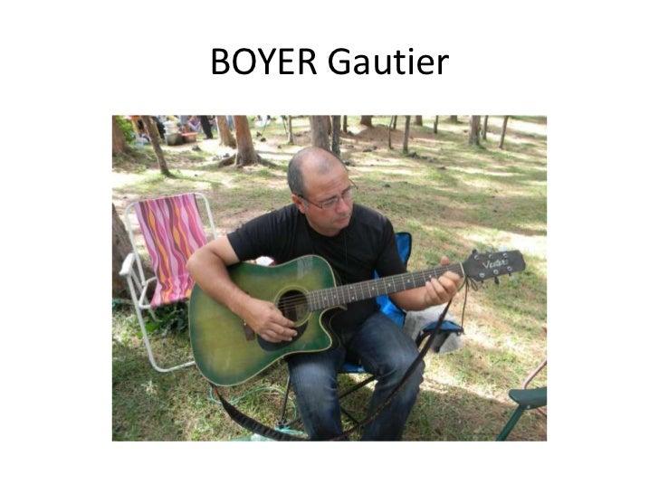 BOYER Gautier<br />