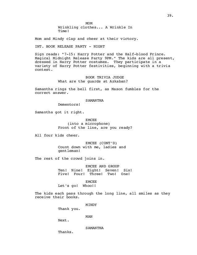 Harry potter 1 script pdf