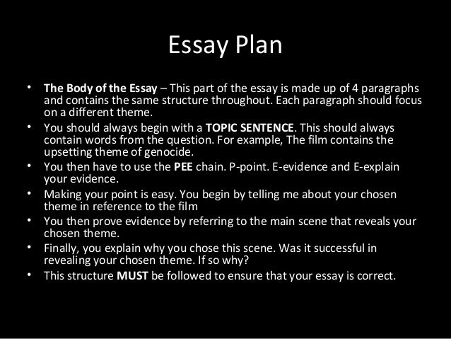 example essay theme book