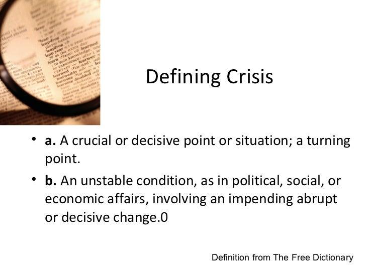 Defining ...