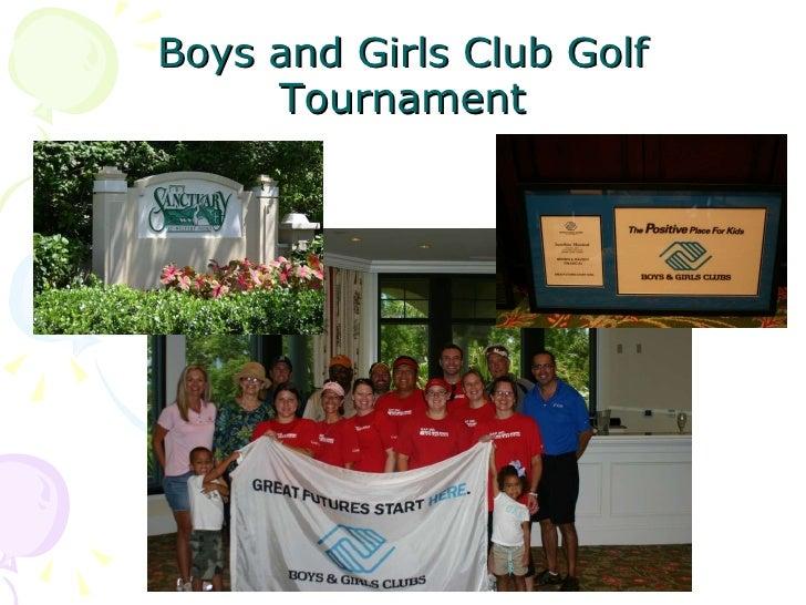 Boys and Girls Club Golf   Tournament