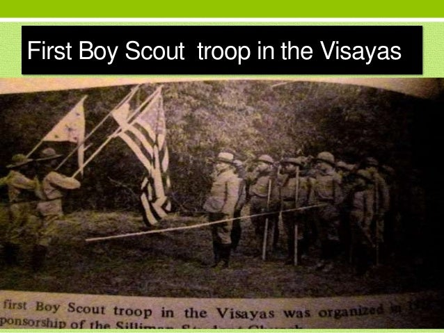 First Boy Scout troop in the Visayas