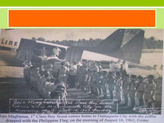NEGROS ORIENTALBSP DELEGATIONATTHE MT MAKILING JAMBOREE ~~ CHRISTMAS Golden Jamboree 1973-1974