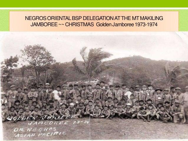 Boy Scouts Leadership in Negros Oriental 1990s