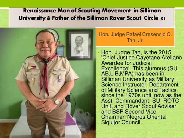 Silliman University Rover Circle 01- Pioneering Batch. Founded in 1993