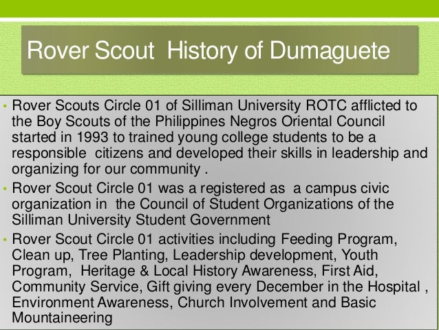 Atty Dax Montealegre, RPT Rover Scout logo • Pioneer Troop leader of the Silliman University Rover Scout Circle 01 • Monte...