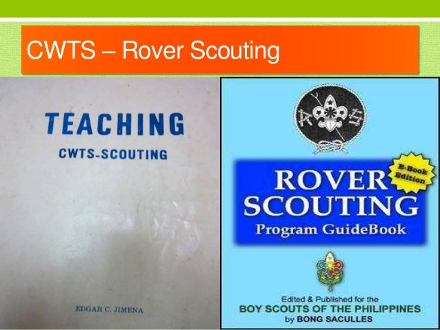 Knot making in Rover Scout