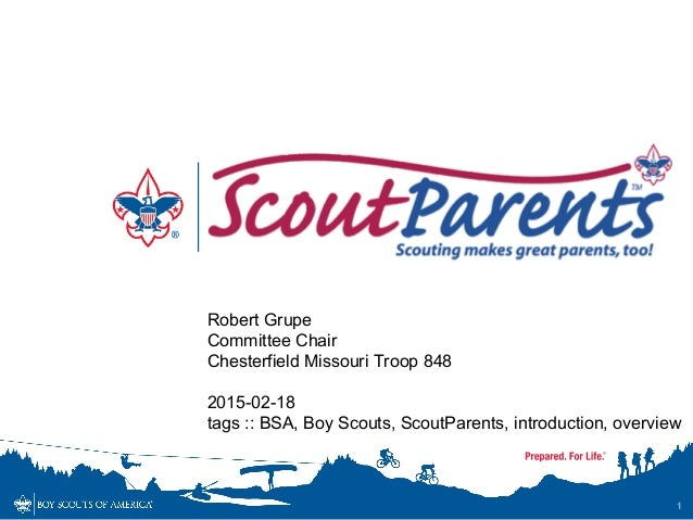 Boy scout parents introduction for Cub scout powerpoint template