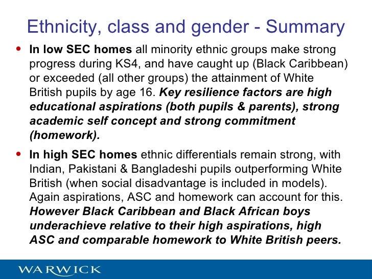 Gender inequality: Male underachievement