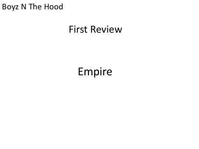 boyz n the hood movie summary