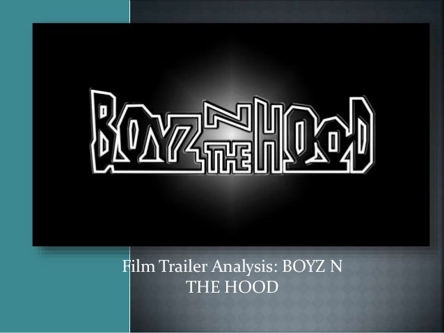 Boyz n the hood critical essays