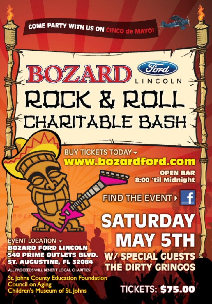 2nd Annual Bozard Ford Rock and Roll Charitable Bash