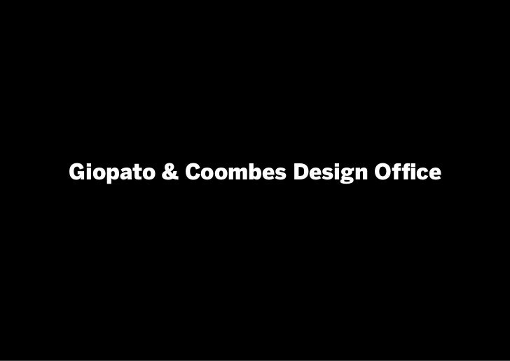 Giopato & Coombes Design Office