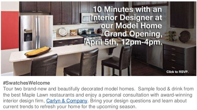 bozzuto homes presents 10 minutes with an interior designer