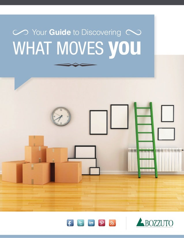 WHAT MOVES you Your Guide to Discovering