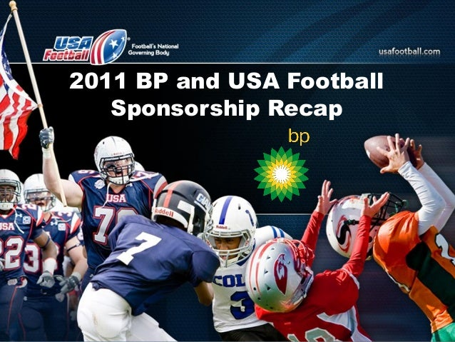 2011 BP and USA Football Sponsorship Recap
