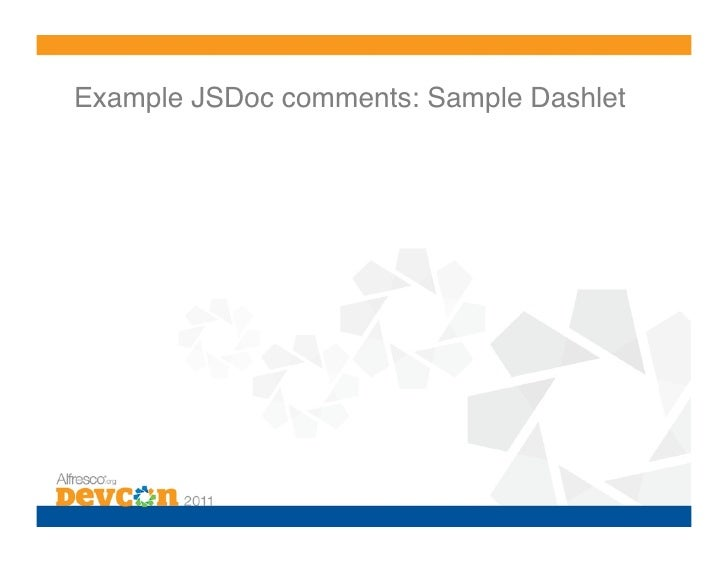 Bp 7 share customization best practices for Jsdoc templates