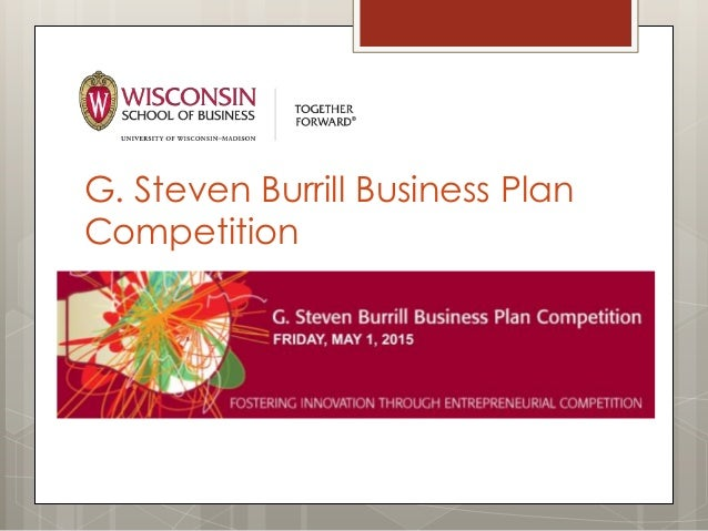 Burrill Business Plan Competition fosters student entrepreneurship