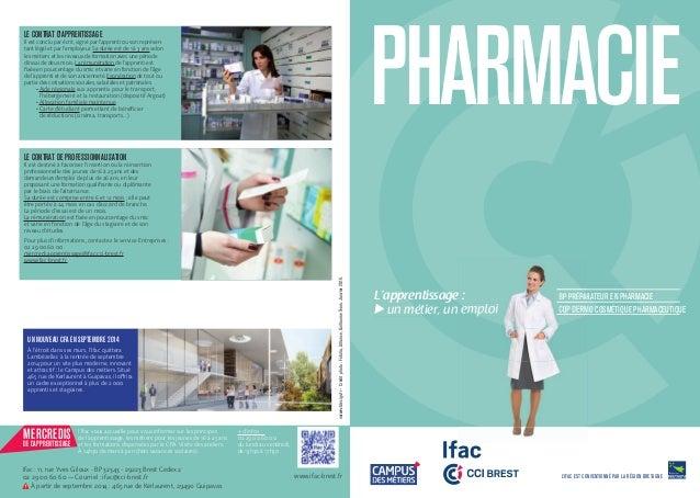 Bp Preparateur Pharmacie Formations Ifac