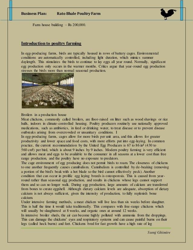 business plan rato bhale poultry farm