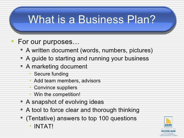 business plan questions checklist