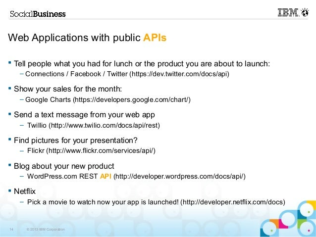 BP204 - Take a REST and put your data to work with APIs!
