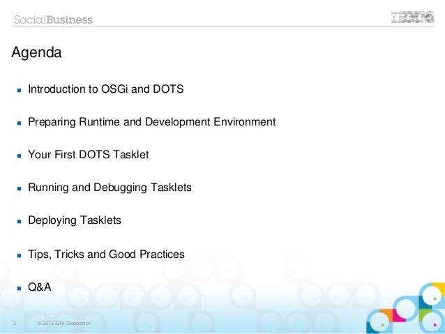 BP207 - Meet the Java Application Server You Already Own – IBM Domino Slide 2