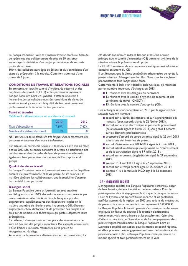 banque populaire loire et lyonnais rapport annuel 2013. Black Bedroom Furniture Sets. Home Design Ideas