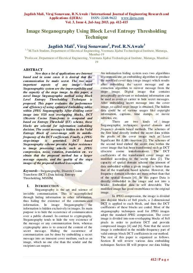 Jagdish Mali, Viraj Sonawane, R.N.Awale / International Journal of Engineering Research and Applications (IJERA) ISSN: 224...