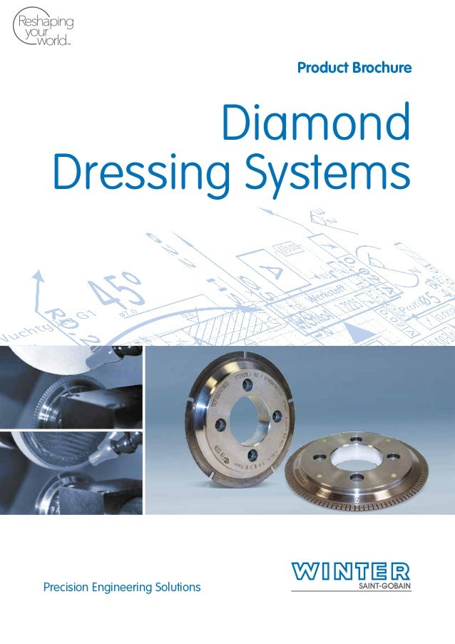 Precision Engineering Solutions Product Brochure Diamond Dressing Systems 1