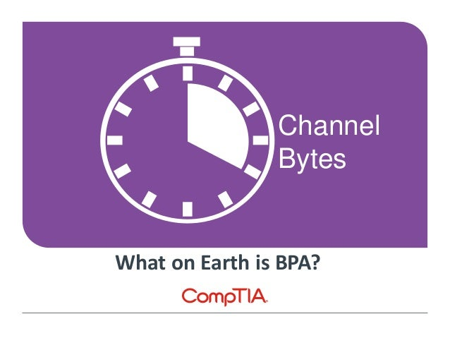 Channel Bytes What on Earth is BPA?