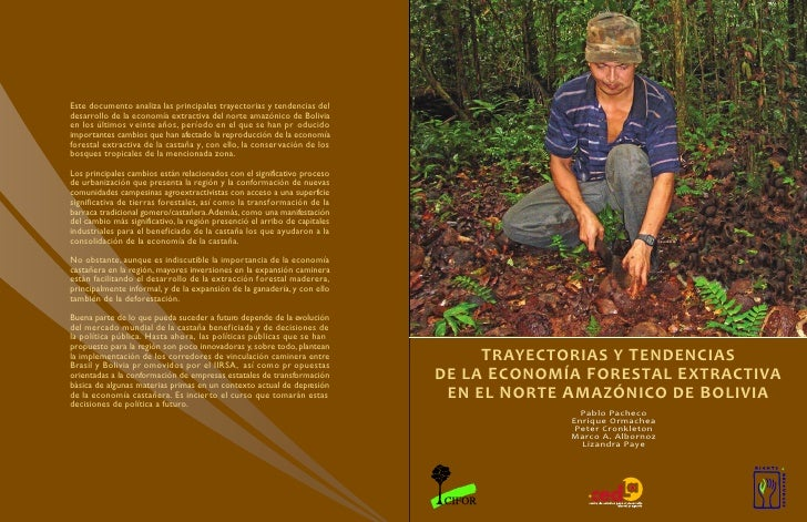 Este documento analiza las principales trayectorias y tendencias deldesarrollo de la economía extractiva del norte amazóni...